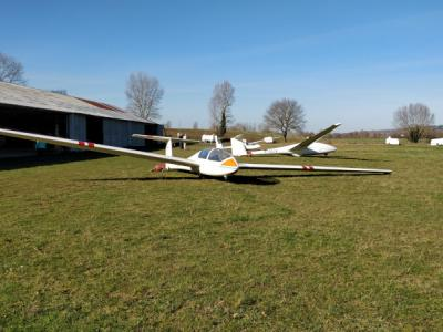 Photo d'un planeur Twin Astir II