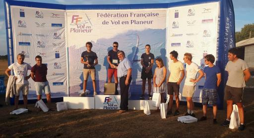 Florian remporte le championnat de france junior 2019